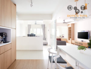 Muji interior design style by Dots N Tots Interior Group